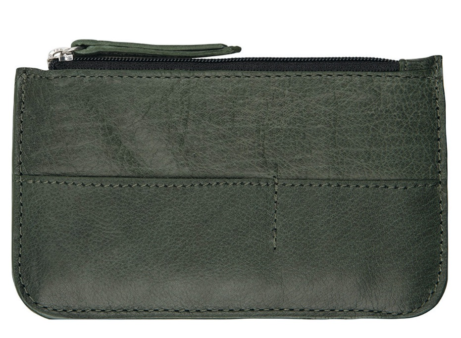 Chabo Bags - Cards & Coins Wallet - Green