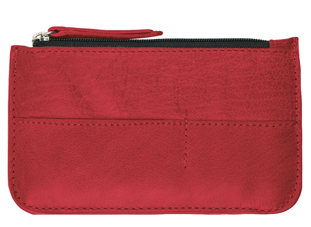 Chabo Bags - Cards & Coins Wallet - Red