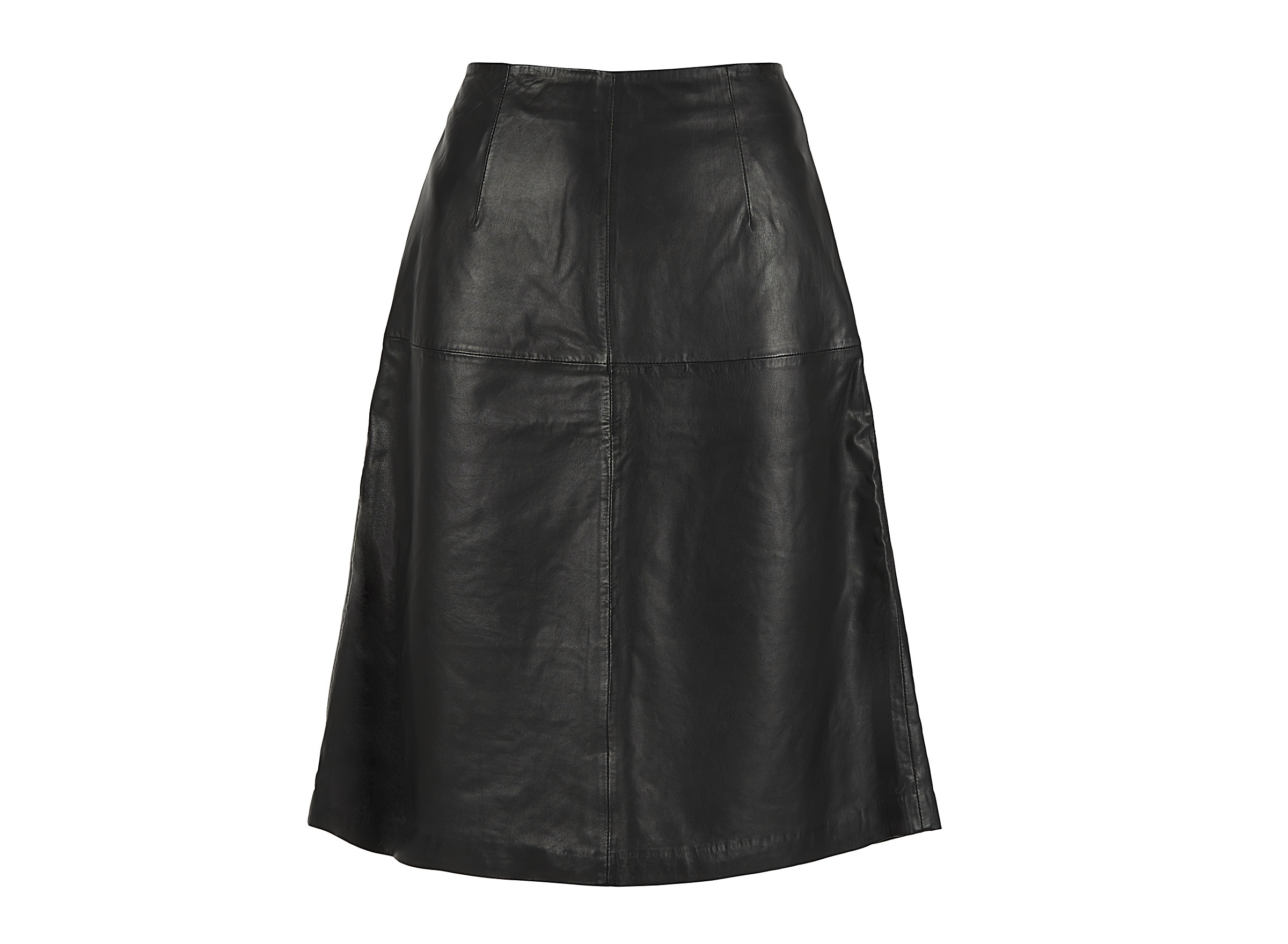 Chabo Bags - Leather Skirt Cicely - Black 40