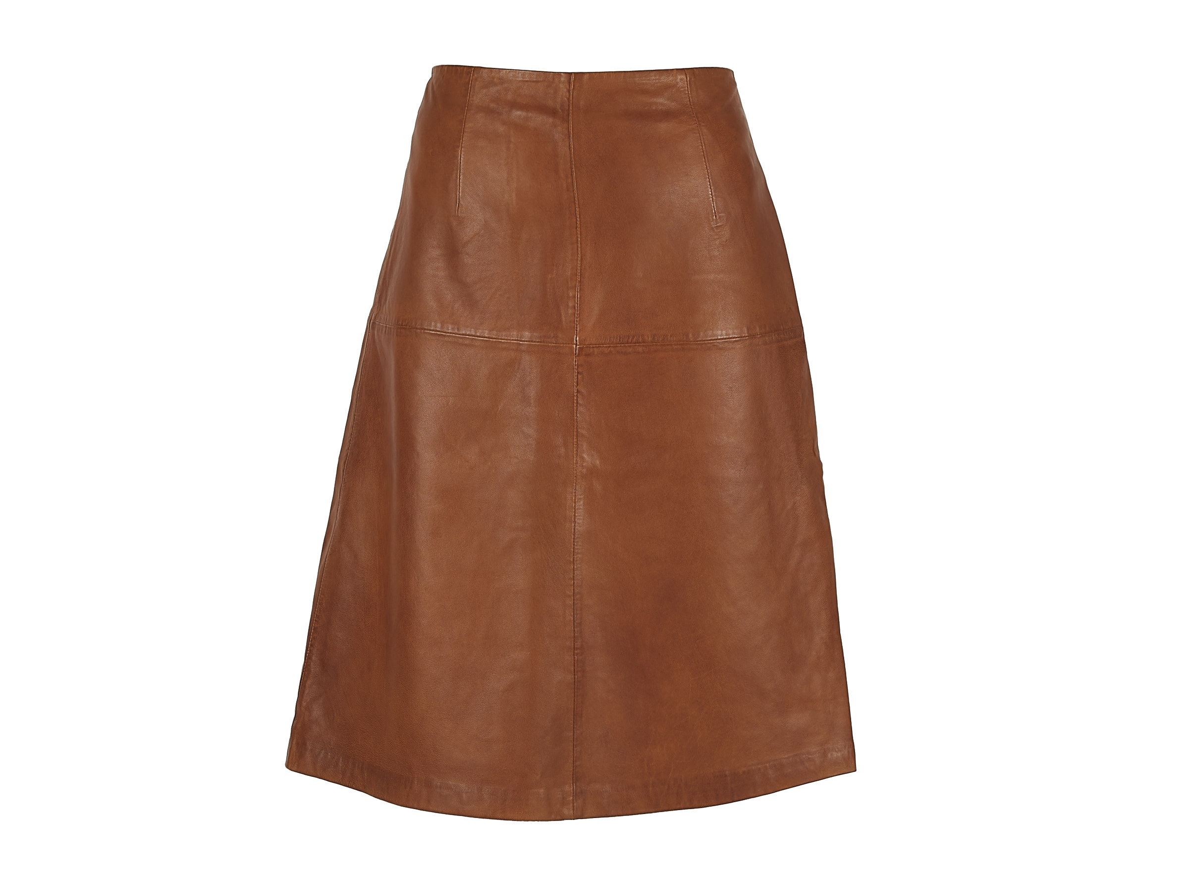 Chabo Bags - Leather Skirt Cicely - Camel 40