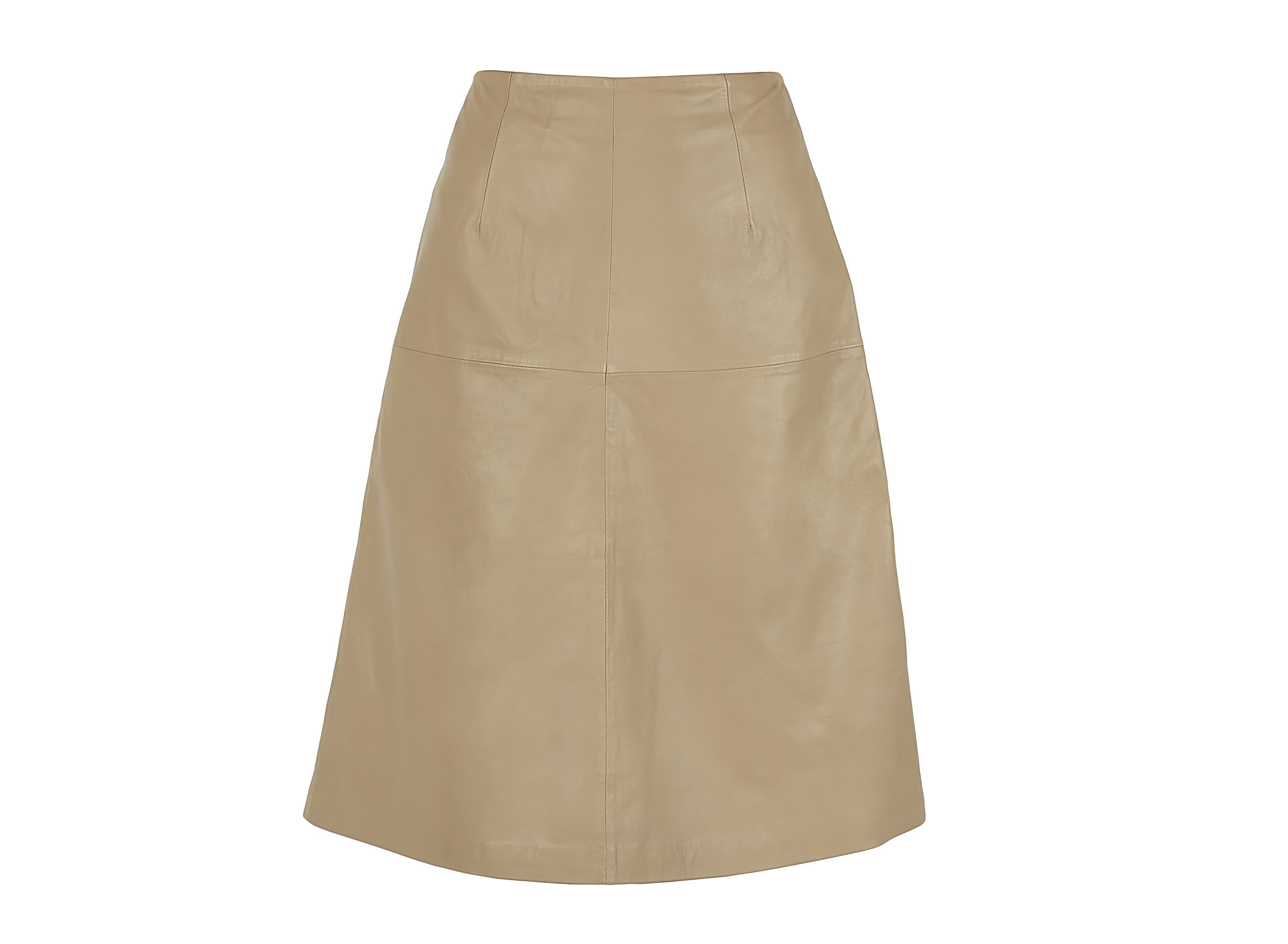 Chabo Bags - Leather Skirt Cicely - Sand 36
