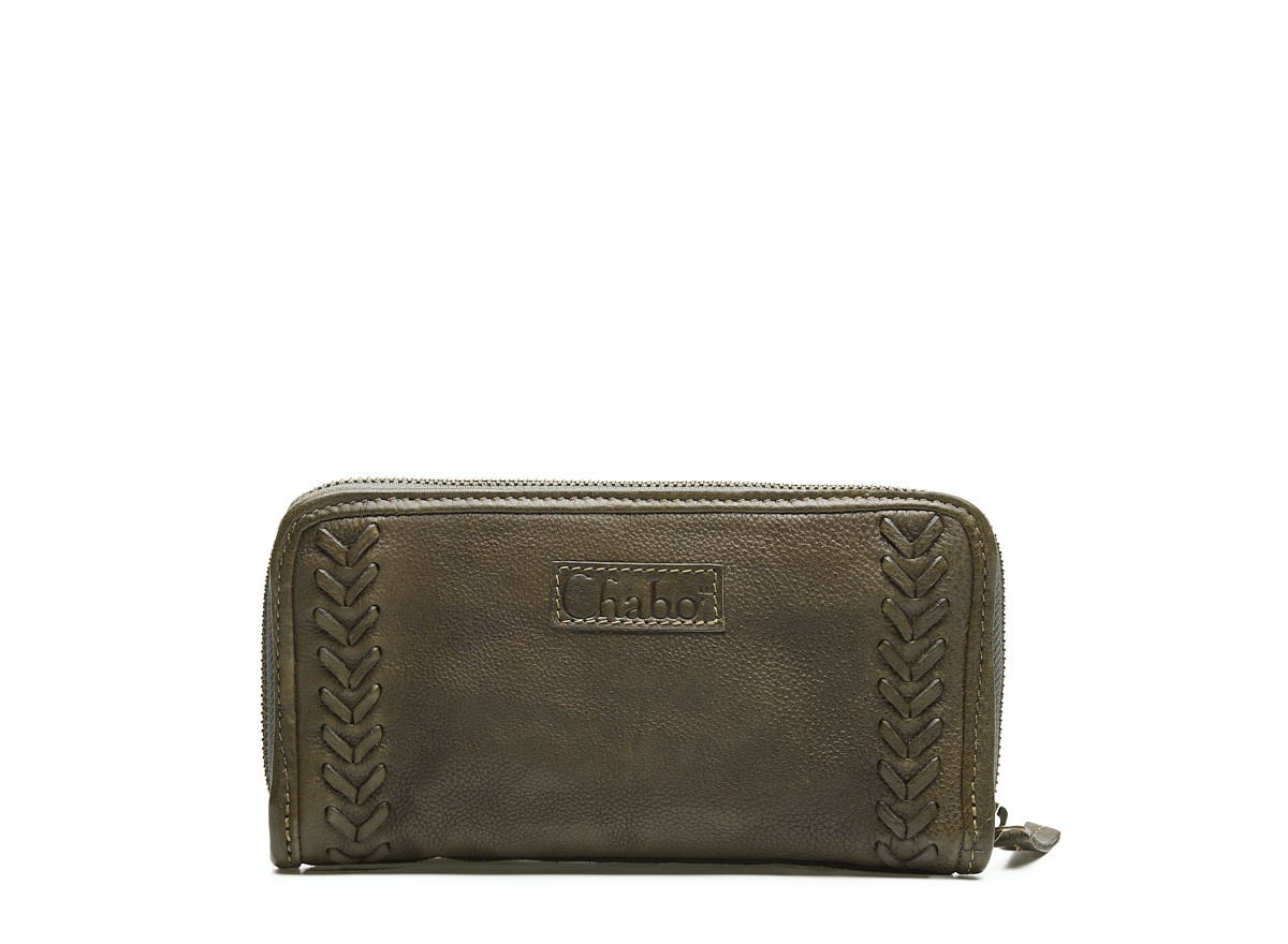 Chabo Bags - Image Wallet - Olive