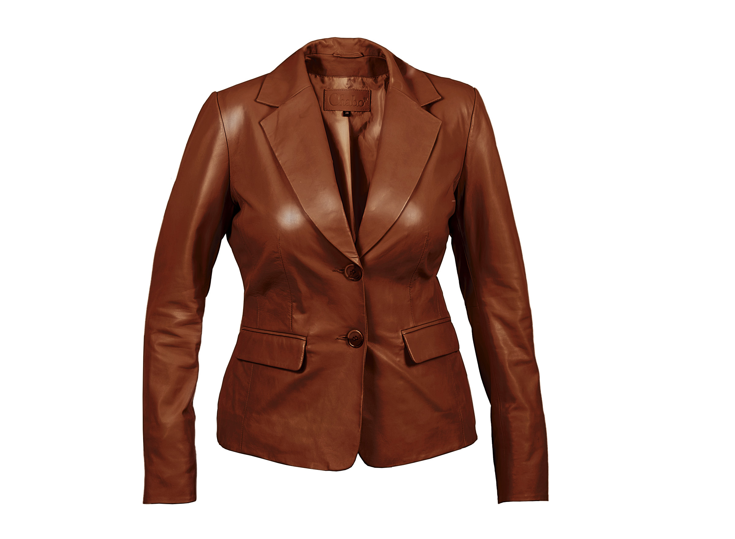 Chabo Bags - Leather Jacket Nina - Camel 40