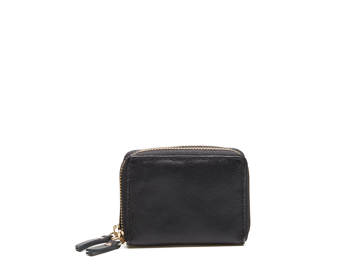 Chabo Bags - Ox Wallet - Black Hardware Gold