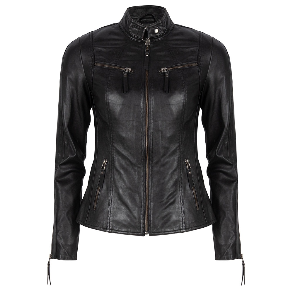 Chabo Bags - Leather Jacket Zoë - Black 38