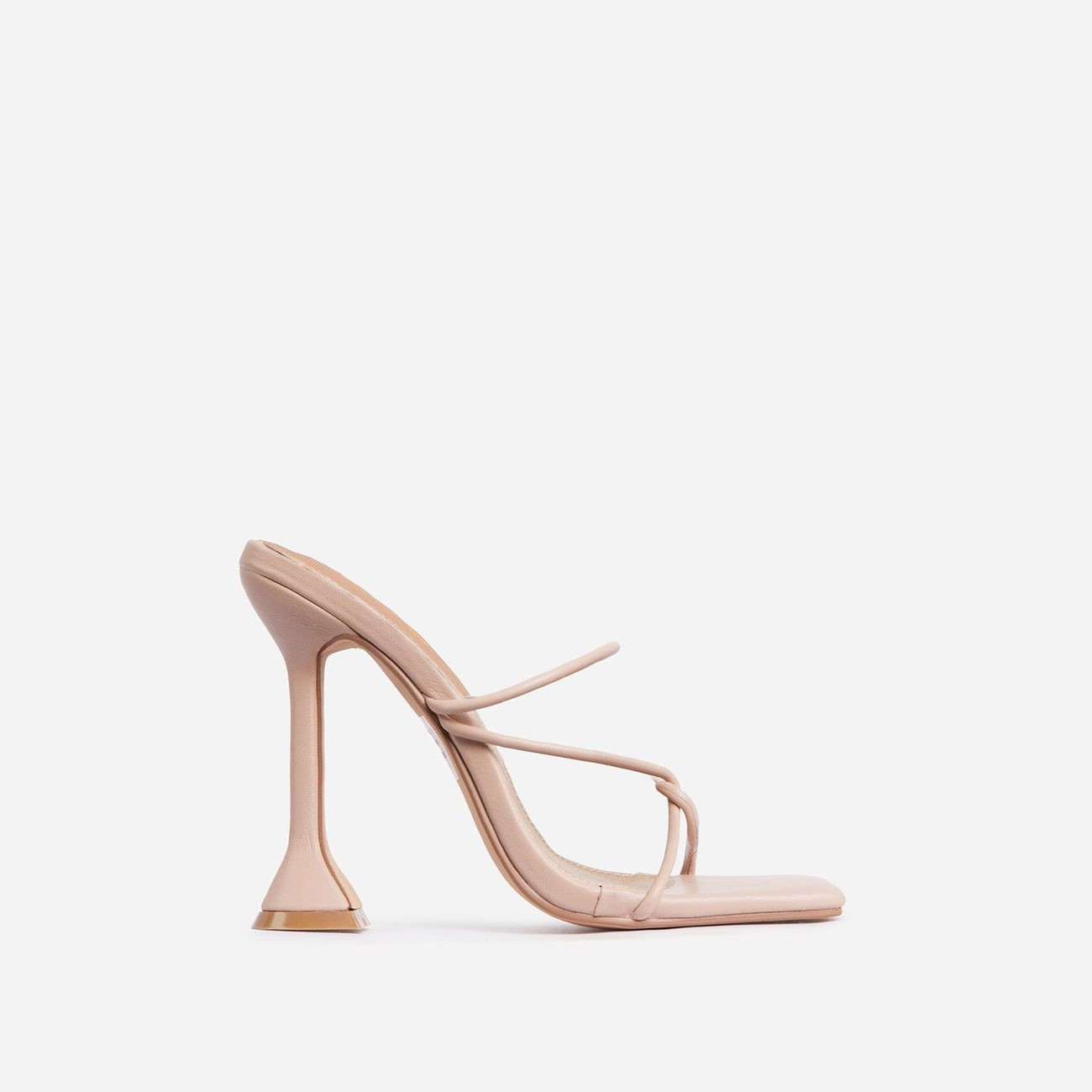 EGO - Knockout Strappy Square Hakken In Nude
