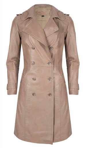 Chabo Leather Trenchcoat Fabiënne