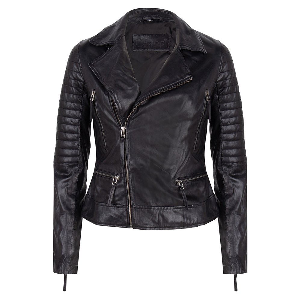 Chabo Bags - Leather Jacket Biker - Black 40