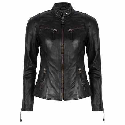 Chabo Leather Jacket Zoë