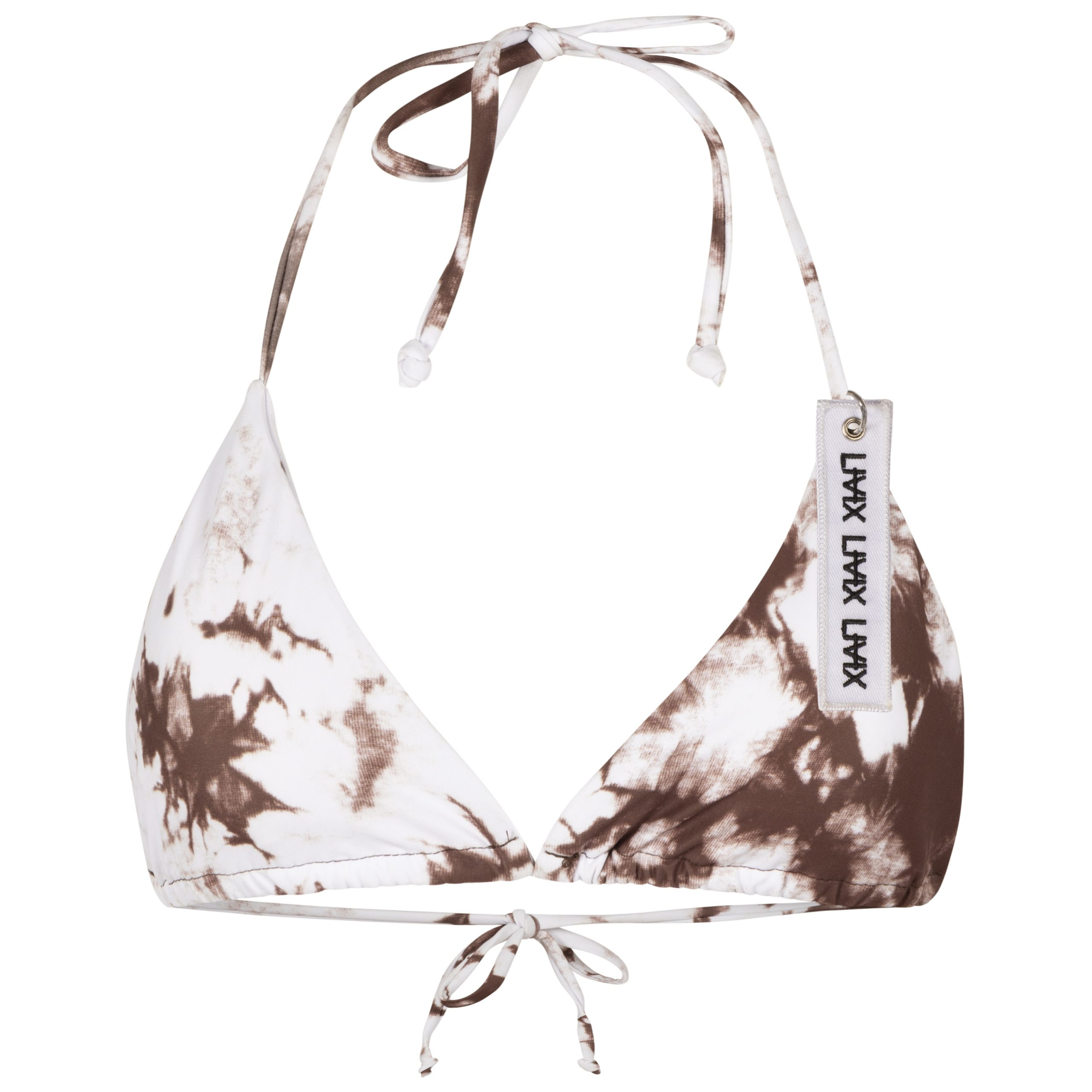Livix - Brown Waves Bikini Top