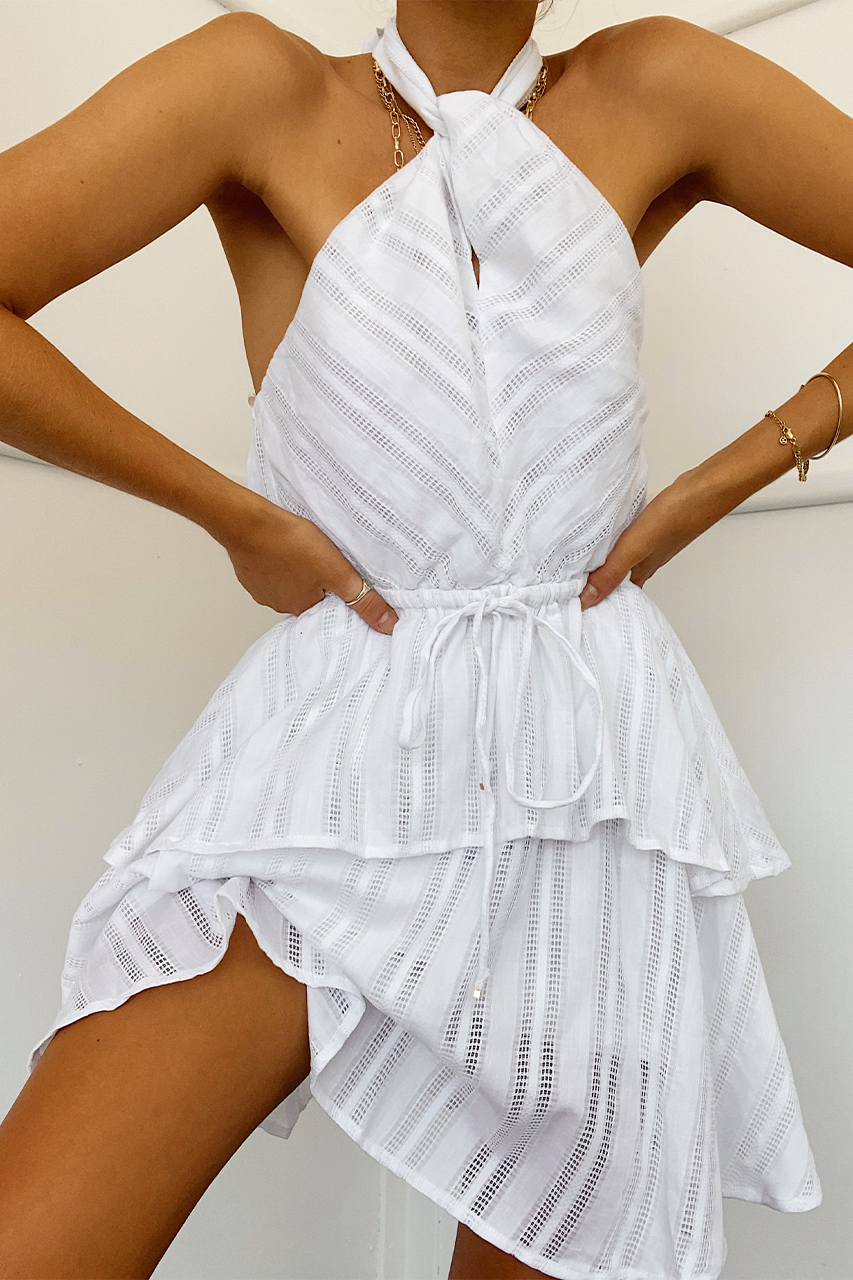 Seven Wonders - Lexi Halter Dress White